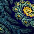 Floral Abyss by Sandra Bauser Digital Art