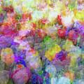 Floral Art Cxi by Tina Baxter