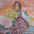 Floral Basket by John Vandebrooke
