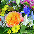 Floral Bouquet 9 by Sharon Talson