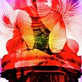 Coral Floral Buddha Sound by Silva Wischeropp