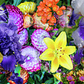 Floral Collage 02 by Gene Norris