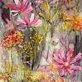 Floral Cosmos by Suzann Sines
