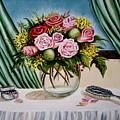 Floral Essence by Elizabeth Robinette Tyndall