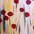 Floral Fireworks by Jilian Cramb - AMothersFineArt