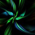 Floral Fractal 040710 by David Lane