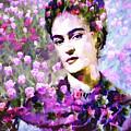 Floral Frida Vi by Tina Baxter
