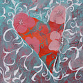 Floral Heart by Robin Maria Pedrero