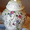 Floral Jar by Donna Bentley