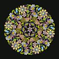 Floral Mandala Pattern by Stanley Wong