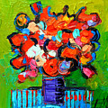 Floral Miniature - Abstract 0315 by Mona Edulesco