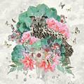 Floral Owl by Donika Nikova