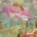 Floral Potpourri With Peonies 16 by Lynda Lehmann