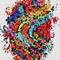 Floral Splash 2 by Genevieve Esson
