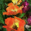 Floral Spring Tulips 2017 Pa 02 Vertical by Thomas Woolworth