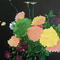 Floral Still Life by Lizzy Bell Cassada