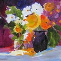 Floral Still Life by Vicki Brevell