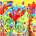 Floral Swirls by Pauline Ross