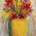 Floral Vase by Susan Campbell