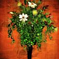 Floral Wall Arrangement by Joan  Minchak