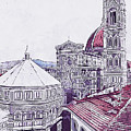 Florence - 19 by Andrea Mazzocchetti