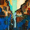Florence Street Study by Kurt Hausmann