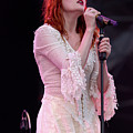 Florence Welch Singer Of Florence And The Machine Performing Live - 002 by Olivier Parent