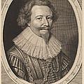 Florent II, Count Of Pallandt by Willem Jacobsz Delff After Michiel Van Miereveld