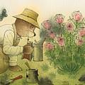 Florentius The Gardener11 by Kestutis Kasparavicius