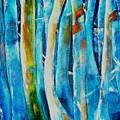 Floresta Azul by Fernanda Cruz