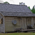 Florida Cracker Cabin Circa 1900 by Allan  Hughes