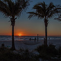 Florida Gulf Coast Sunset  by Ronald Lutz