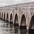 Florida Keys East Coast Railway by Elena Elisseeva