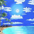 Florida Keys Moon Rise by John Moon