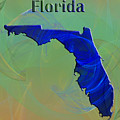 Florida Map by Roger Wedegis