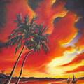 Florida Orange by Melody Horton Karandjeff