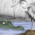 Florida Swamp by Kami Catherman