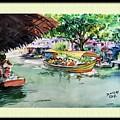 Floting Market by Sanjay Das