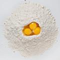 Flour And Eggs by Steve Gadomski