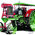 Flour City Gas Tractor by Ferrel Cordle