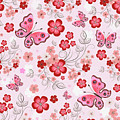 Flower And Butterfly Bj01 by Sandy Sheni
