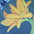 Flower And Insect by M Valeriano