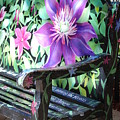 Flower Bench by Rob Hans