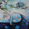 Flower Bird by Manami Lingerfelt