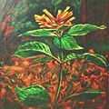 Flower Branch by Usha Shantharam