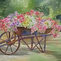 Flower Cart by Deborah Ronglien