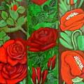 Flower Composition 4 by Anna Folkartanna Maciejewska-Dyba