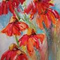 Flower Dance IIi by Susan Seaborn