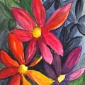 Flower Festival by Carol Wisniewski