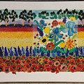 flower Field by Vivian Chepourkoff Hayes